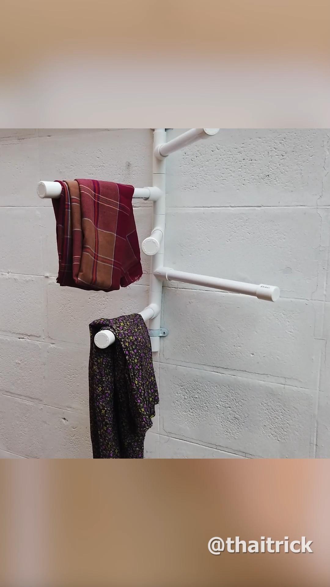 Photo of DIY PVC Hanging Rack