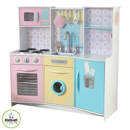 Toy Kitchen Sets - KidKraft 53351 Sweet Treats Pastel ...