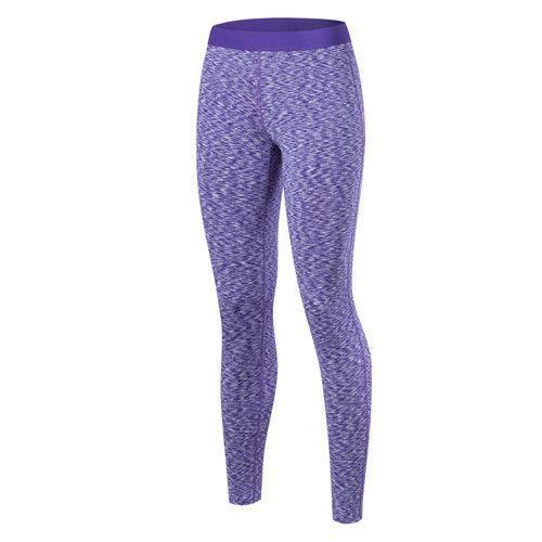 2983dc09b9c2 YEL New Girls Gym Long Yoga Pants Women Sports Trousers Skinny Sexy Fitness  Tight Leggings Logo Custom Compression Running Pants