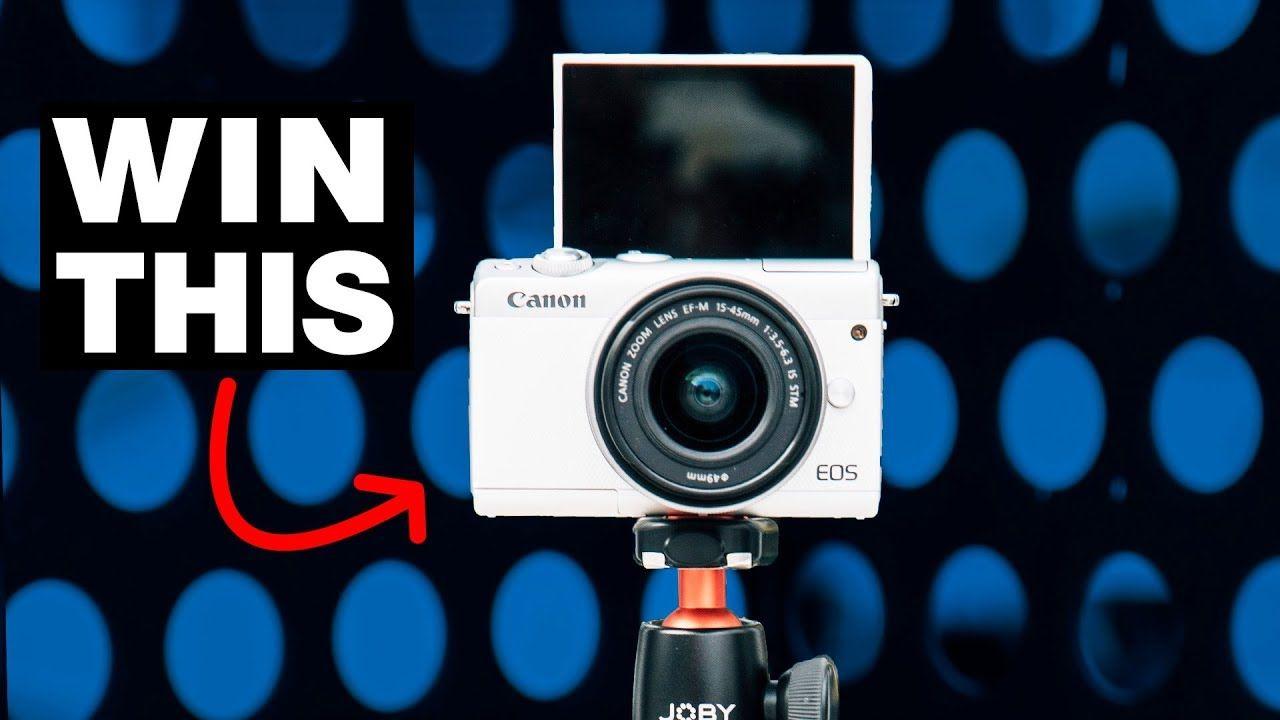 Canon Camera Giveaway 2018 Canon M100 Mirrorless Camera Canon Camera Mirrorless Camera Photography Mirrorless Camera