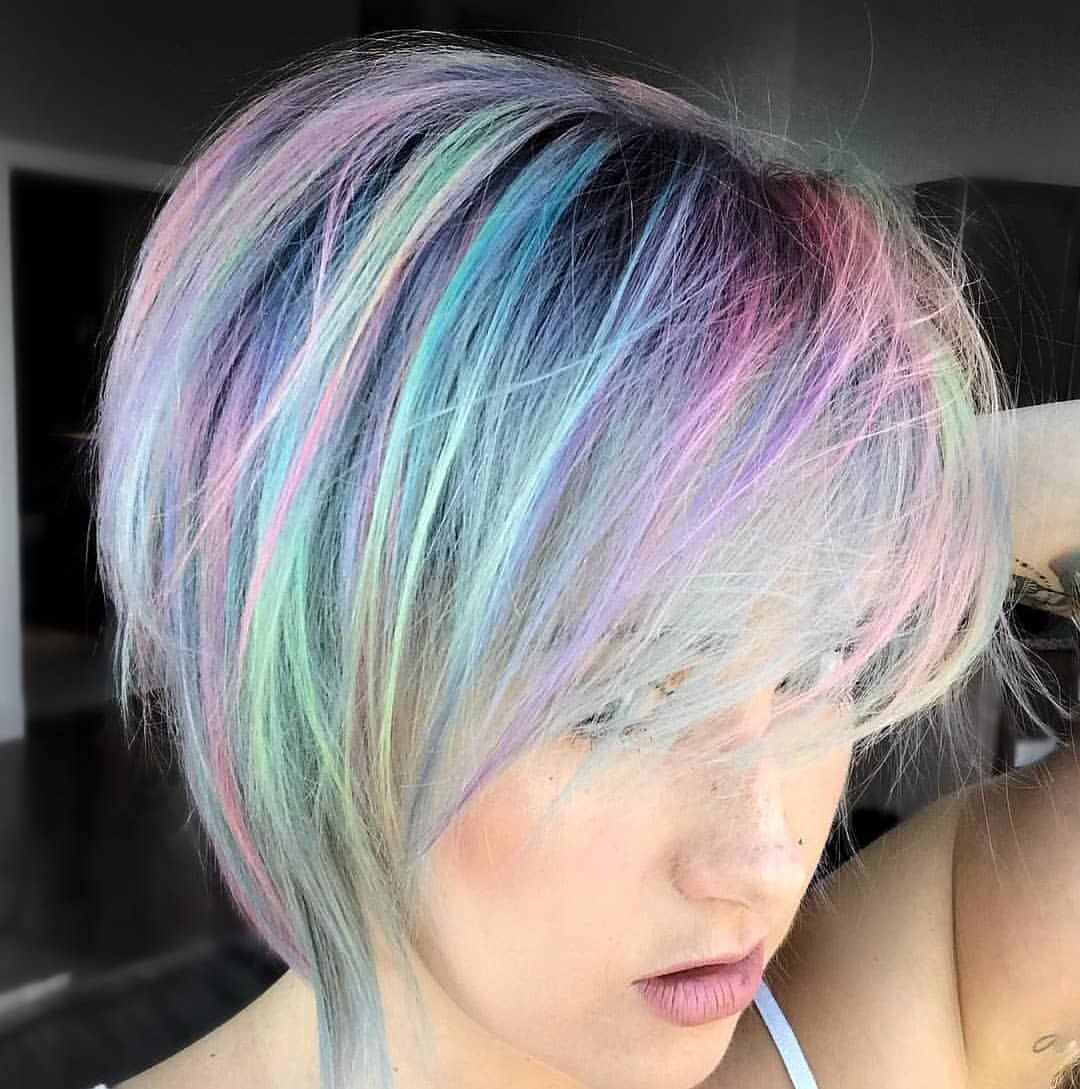 Repost @lisa.loves.hair with pastel pixie #hairwitchcraft