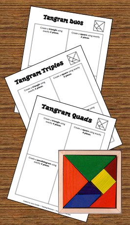 Tangram freebie in Laura Candler\'s online file cabinet | Grades 3-6 ...