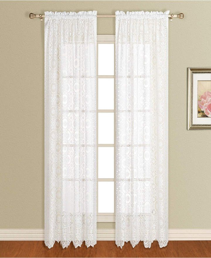 United Curtain Co Inc New Rochelle 56 X 63 Window Panel