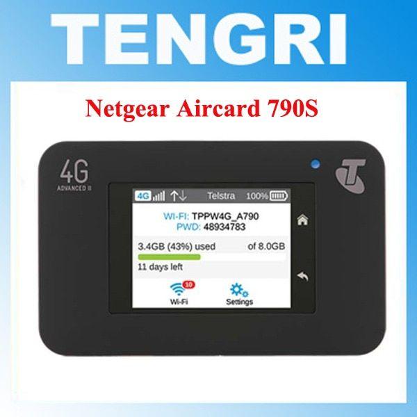 Unlocked Netgear Aircard 790s (AC790S) 300Mbps 4G Mobile Hotspot