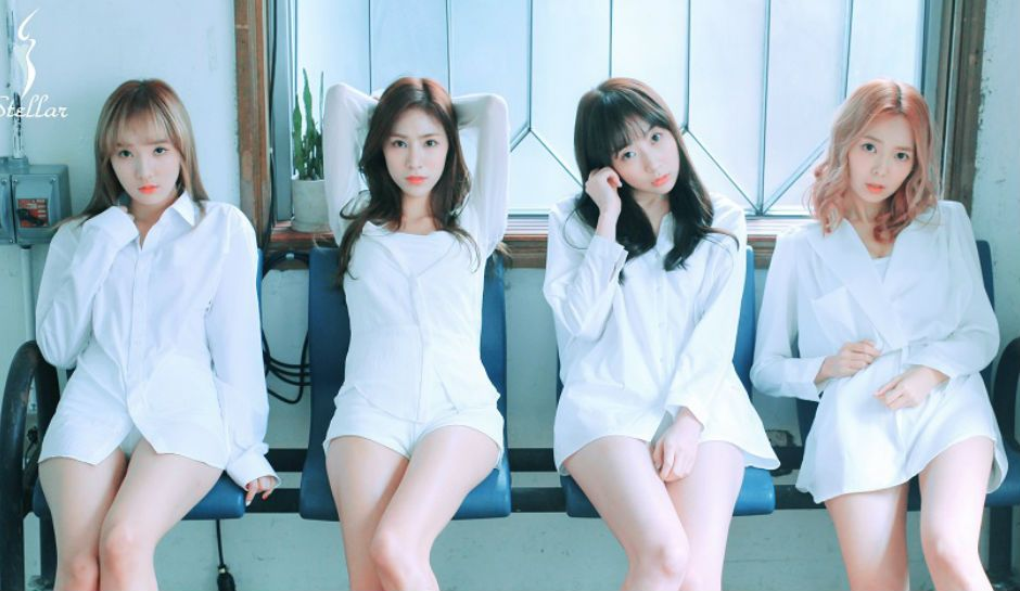 Stellar Releases Provocative Teasers For Comeback Netizens Shocked As They Attack K Pop Idol Girl Group And Photographer Kpop Girls Girl Group Kpop