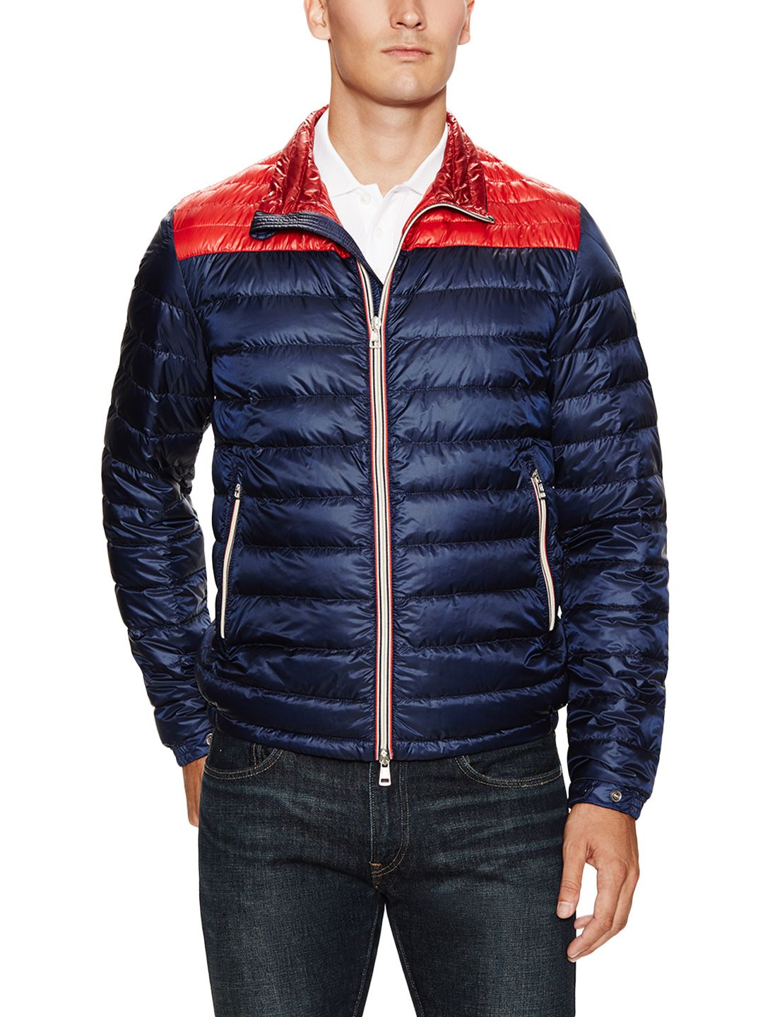 Colorblock Puffer Jacket by Moncler at Gilt Puffer