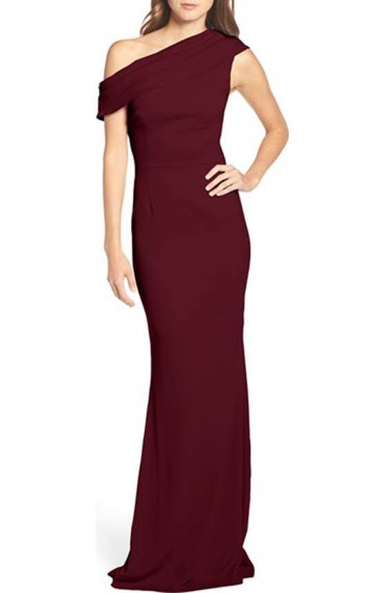 Free shipping and returns on Katie May Westward Stretch Crepe Gown ...
