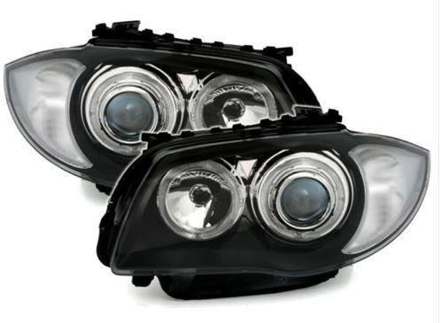 DRIVERS AND PASSENGER SIDE  Does NOT come with levelling motors but will take your originals   Halogen Type  Takes H7 bulbs   Standard Bulb Lit Halo Rings
