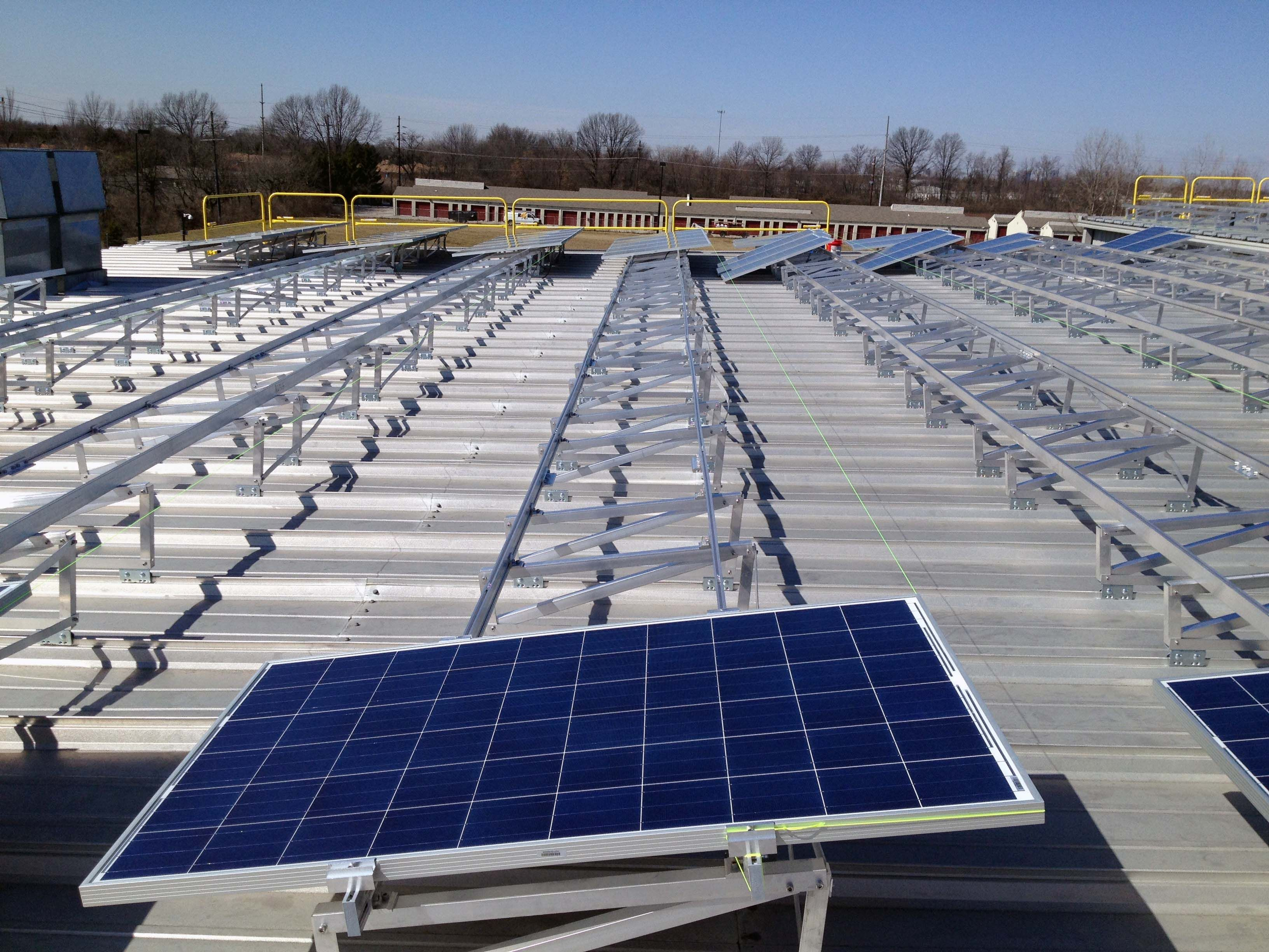 Solar Module Mounting Structure Manufactures and Exporters