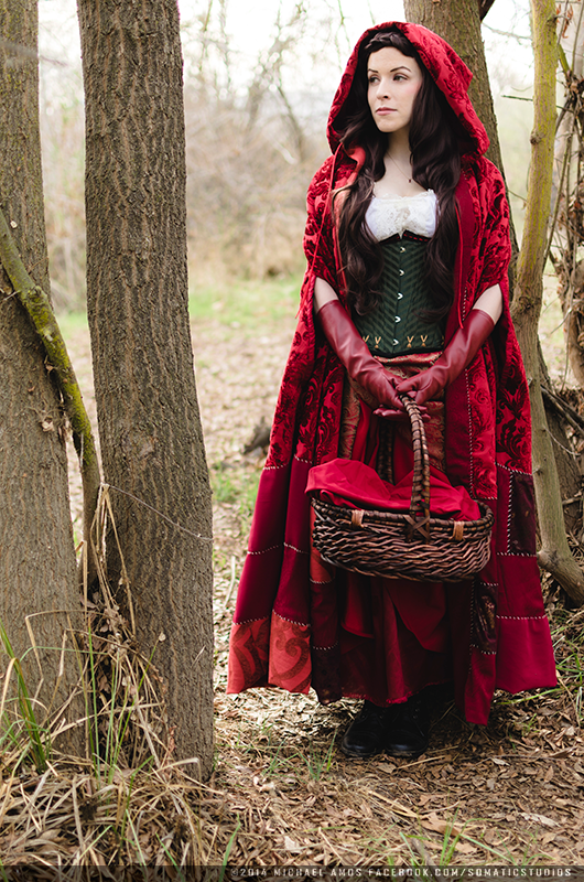 Red from Once Upon A Time Costume made by me Photo by