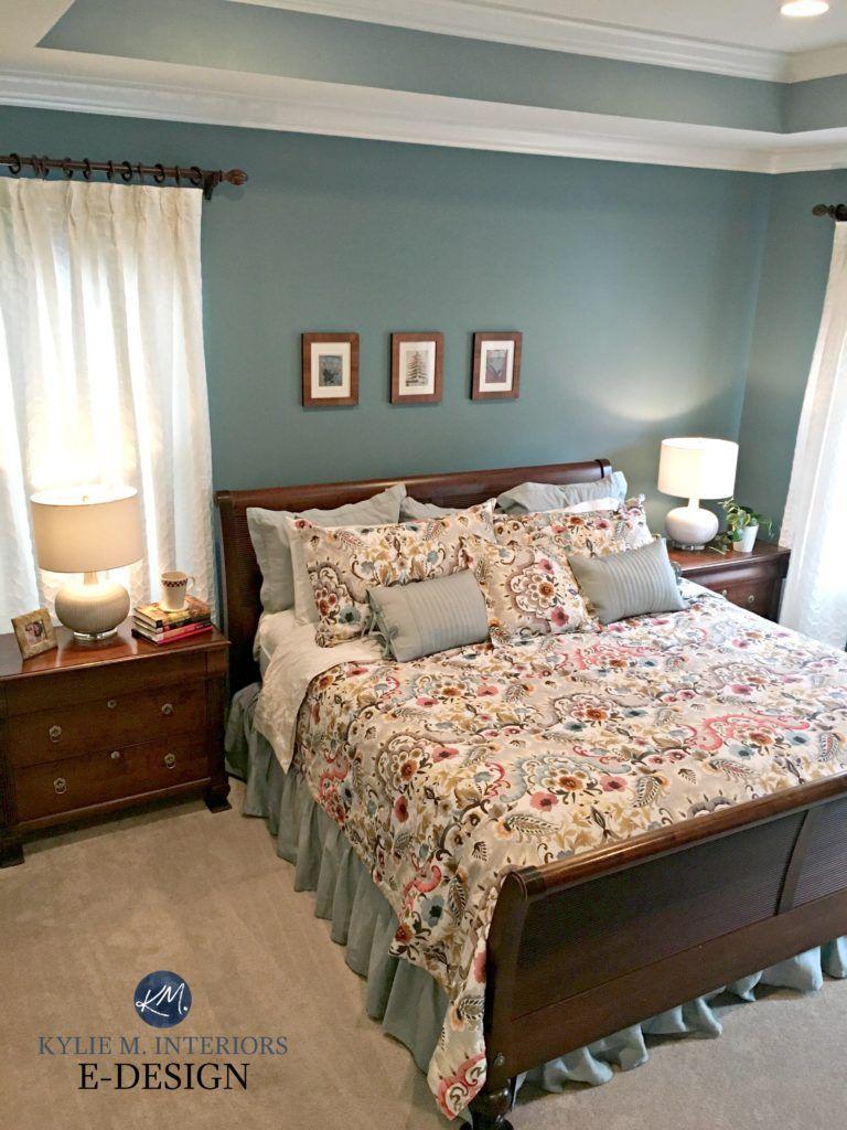 E Design A Teal Inspired Master Bedroom Makeover Bedroom Colors