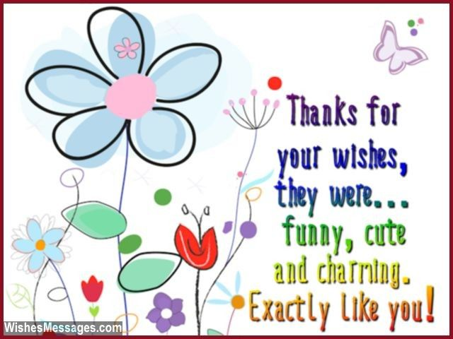Thank You Messages for Birthday Wishes: Quotes and Notes | Birthday ...