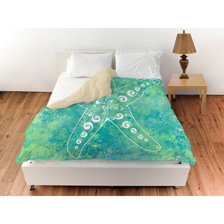 Thumbprintz Sponge Paint Starfish Duvet Cover