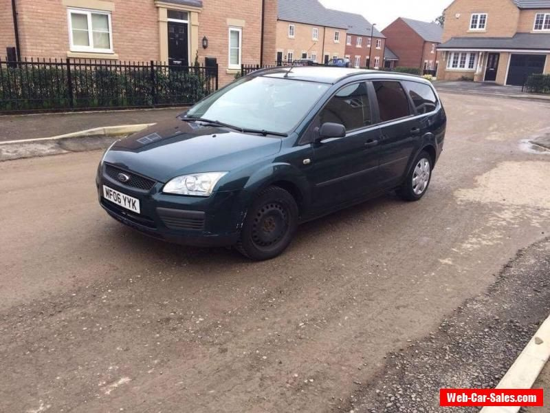 Car For Sale Ford Focus Estate Automatic 2006 Plate 1 6 Petrol