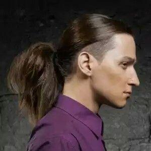 Long Hair Undercut