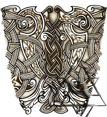 Old Norse Tattoo Designs Recent Custom Works Some Norse Tattoo Designs Norse Tattoo Celtic Tattoos Celtic Tattoo