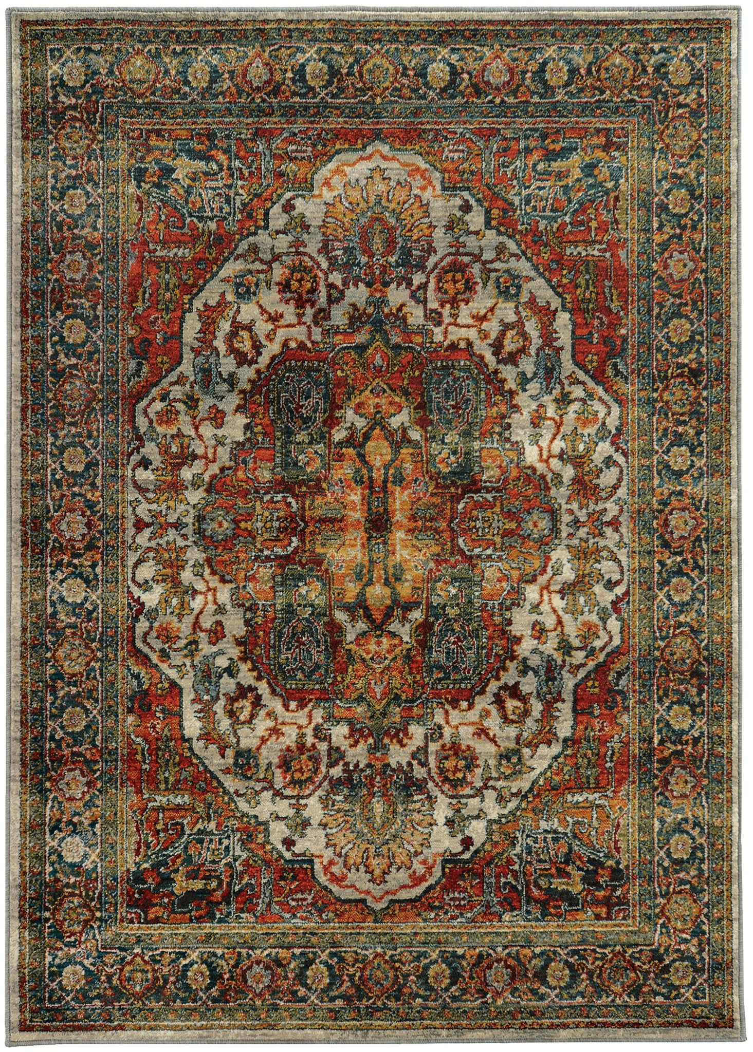 red orange and teal blue turkish style rug | red and teal, rugs