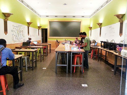 Innovative Library Classroom : Innovation lab at harold washington library how it