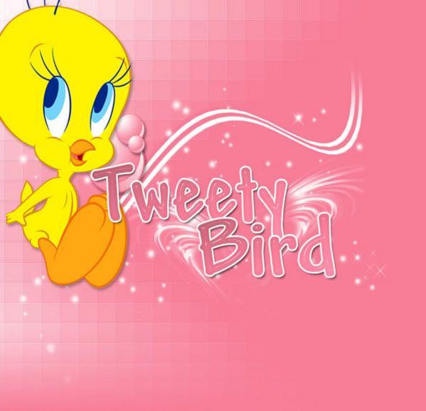 Tweety with pink background tweety bird pinterest tweety and movie tweety with pink background voltagebd Images