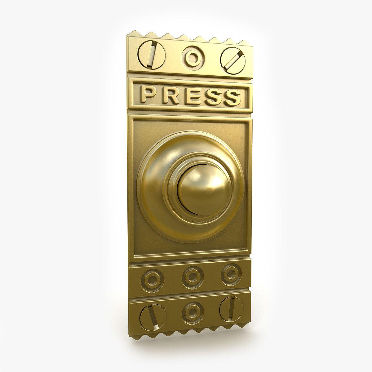 3D Model Of Door Bell - 3D Model