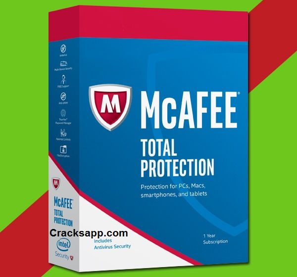 McAfee Total Protection 2017 Activation Code + Crack Full