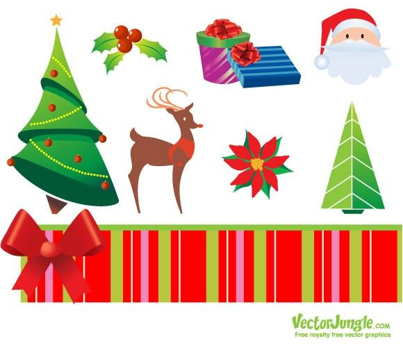 60 free christmas vector design resource for greeting cards and rh pinterest com free christmas vector art illustrator free vector christmas clip art downloads