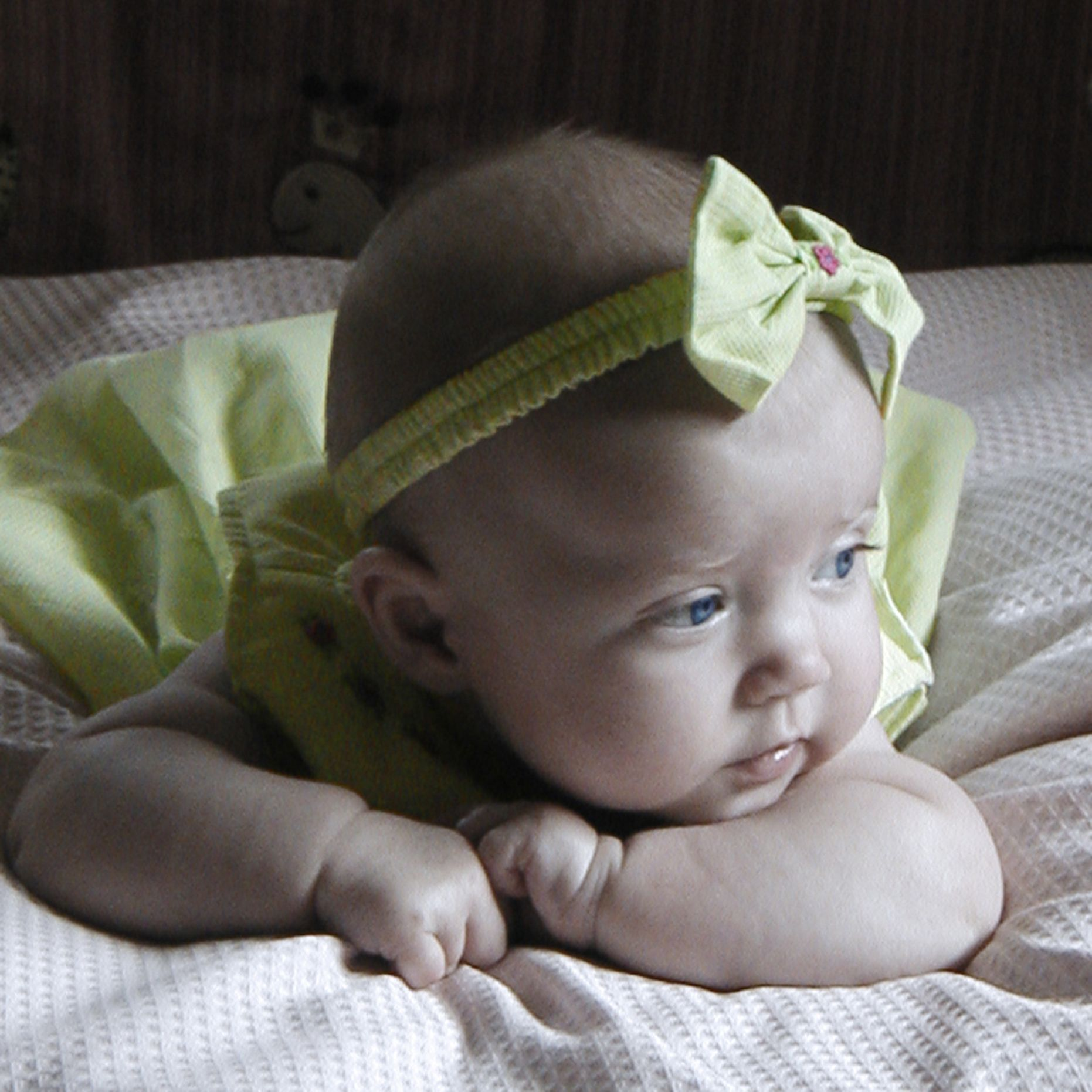 My daughter Lindsay when she was an infant.