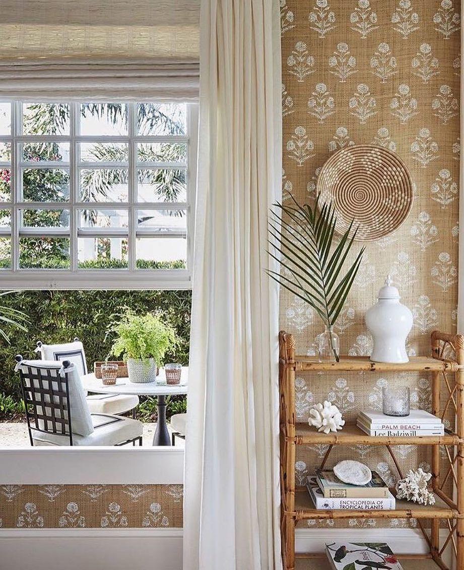 Casa Branca Grasscloth Abranca Via Verandamag With Images