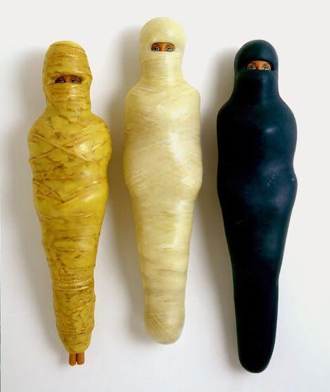 EV Day mummified Barbies