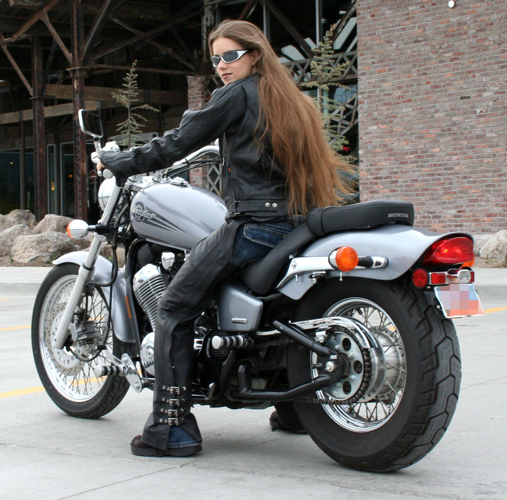 Biker babe picture 79