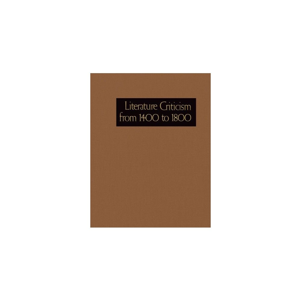 Literature Criticism from 1400 to 1800 (Vol 259) (Hardcover)