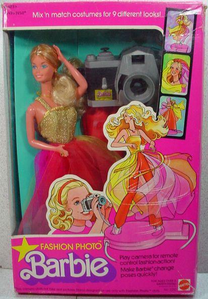 NRFB Fashion Photo Barbie, Mattel, 1978