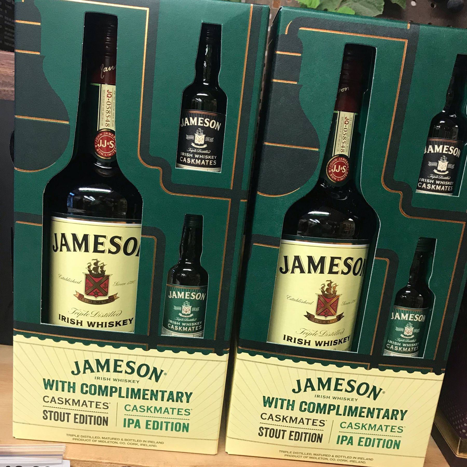 If you have a Jameson lover on your holiday list, this gift set is a