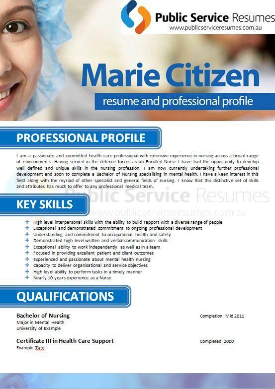 Government Selection Criteria Resume Writers Public Service Resumes Job Resume Examples Nursing Resume Resume