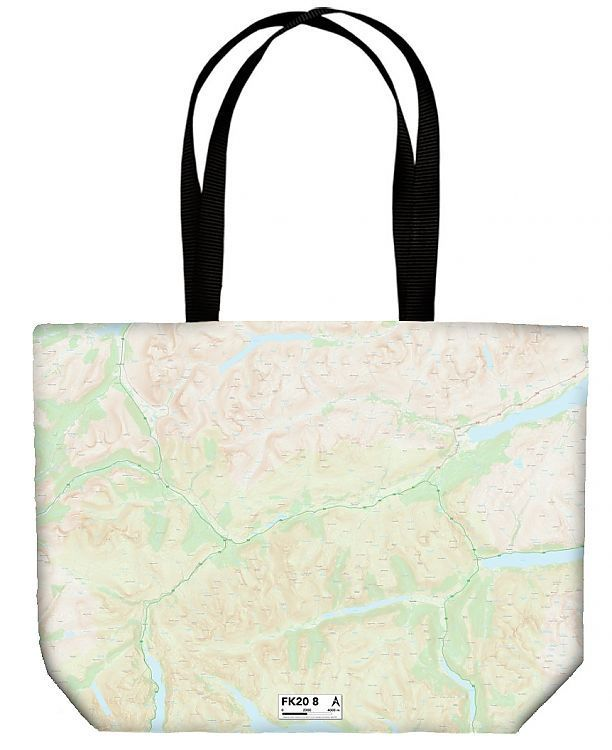 Shopping Bag Falkirk FK20 8 Map