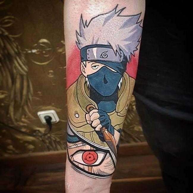 70 Fabulous Naruto Tattoo Designs Dream Big And Be Hokage Anime Tattoos Naruto Tattoo Kakashi Tattoo
