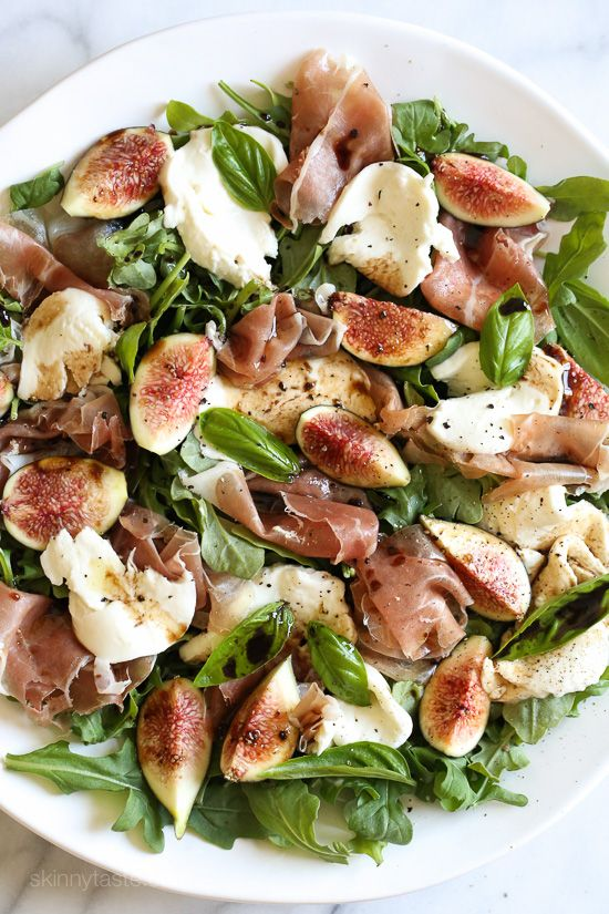 Food 1 2017 9 6 Fig Prosciutto Salad >> Figs And Prosciutto Savory And Sweet They Re A Match Made In Heaven