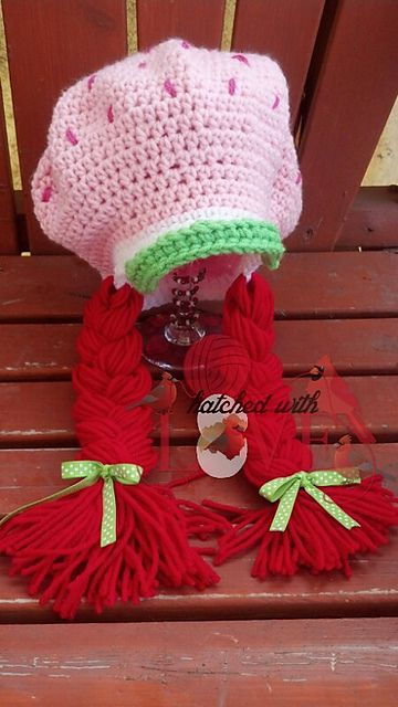 Strawberry Shortcake Crochet The Cutest Ideas Ever | Ravelry, Free ...