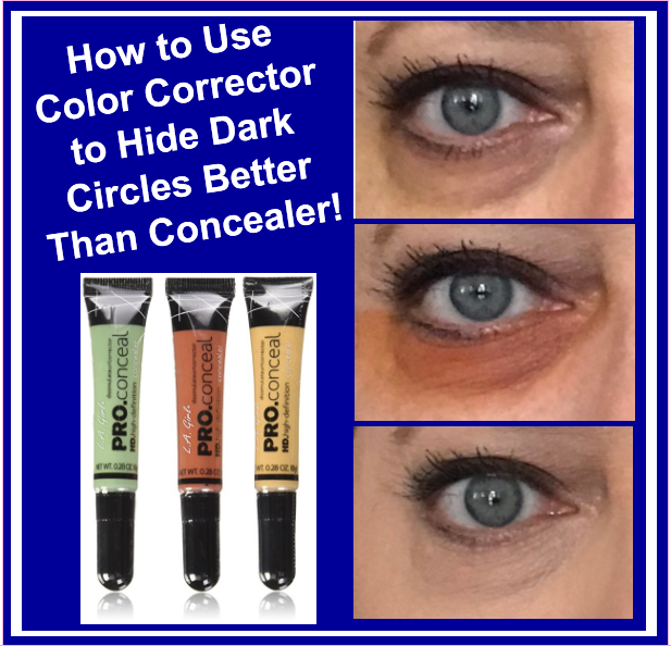 How to Use Color Corrector to Hide Dark Circles Better