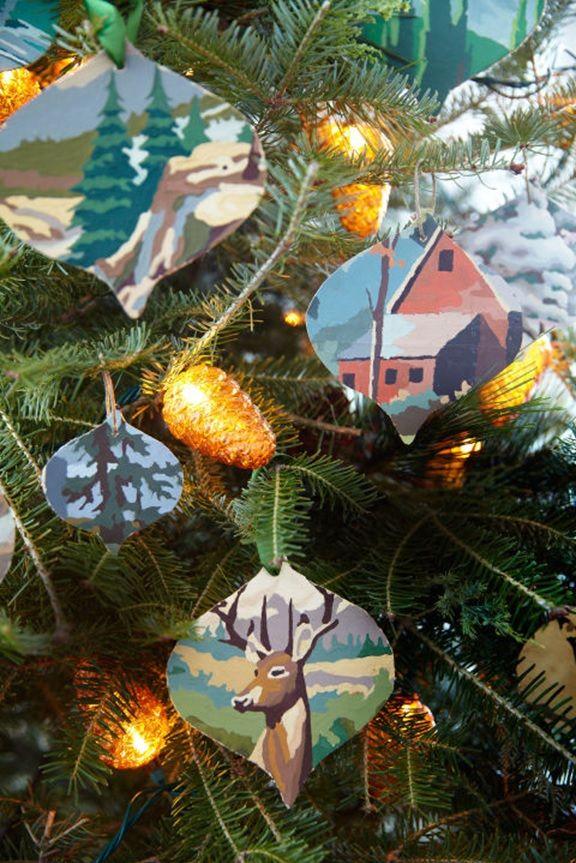 31 Easy DIY Christmas Ornaments Homemade christmas ornaments
