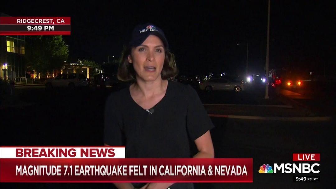 Breakin Earthquake Southern California Ridgecrest