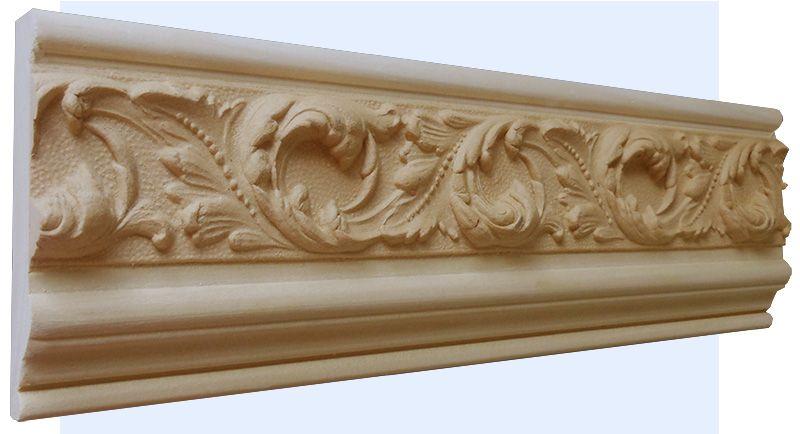Providence decorative wood molding profile frieze molding
