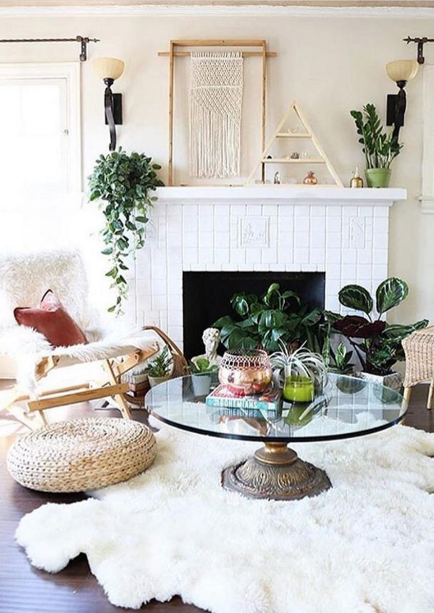 Shaggy rugs & macrame decor | p l a c e s & s p a c e s | Pinterest ...