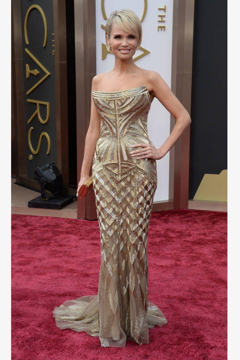 still loving the gatsby getups Kristin Chenoweth Roberto Cavalli Oscar 2014 designer dresses