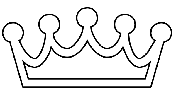 Template Princess Crown Crown Clip Art Crown Printable Crown Outline