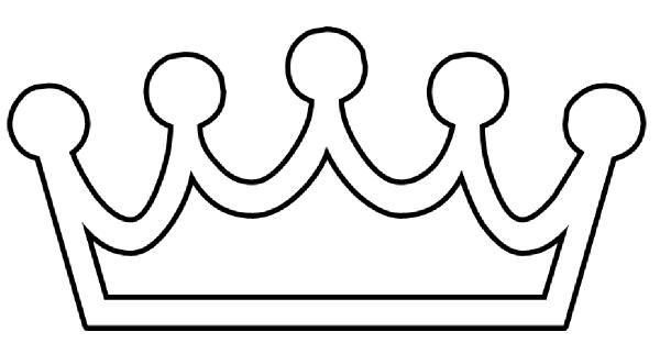 Template Princess Crown - ClipArt Best | yw | Pinterest | Template ...
