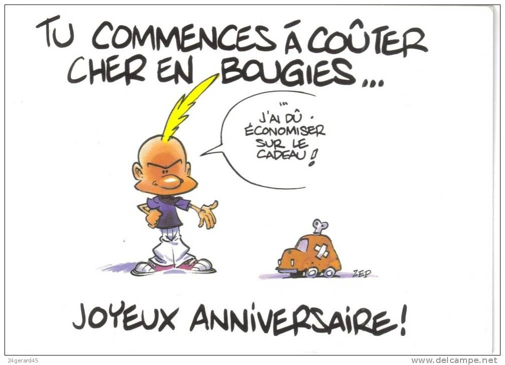 Carte Anniversaire Humour Vieux Bmmt