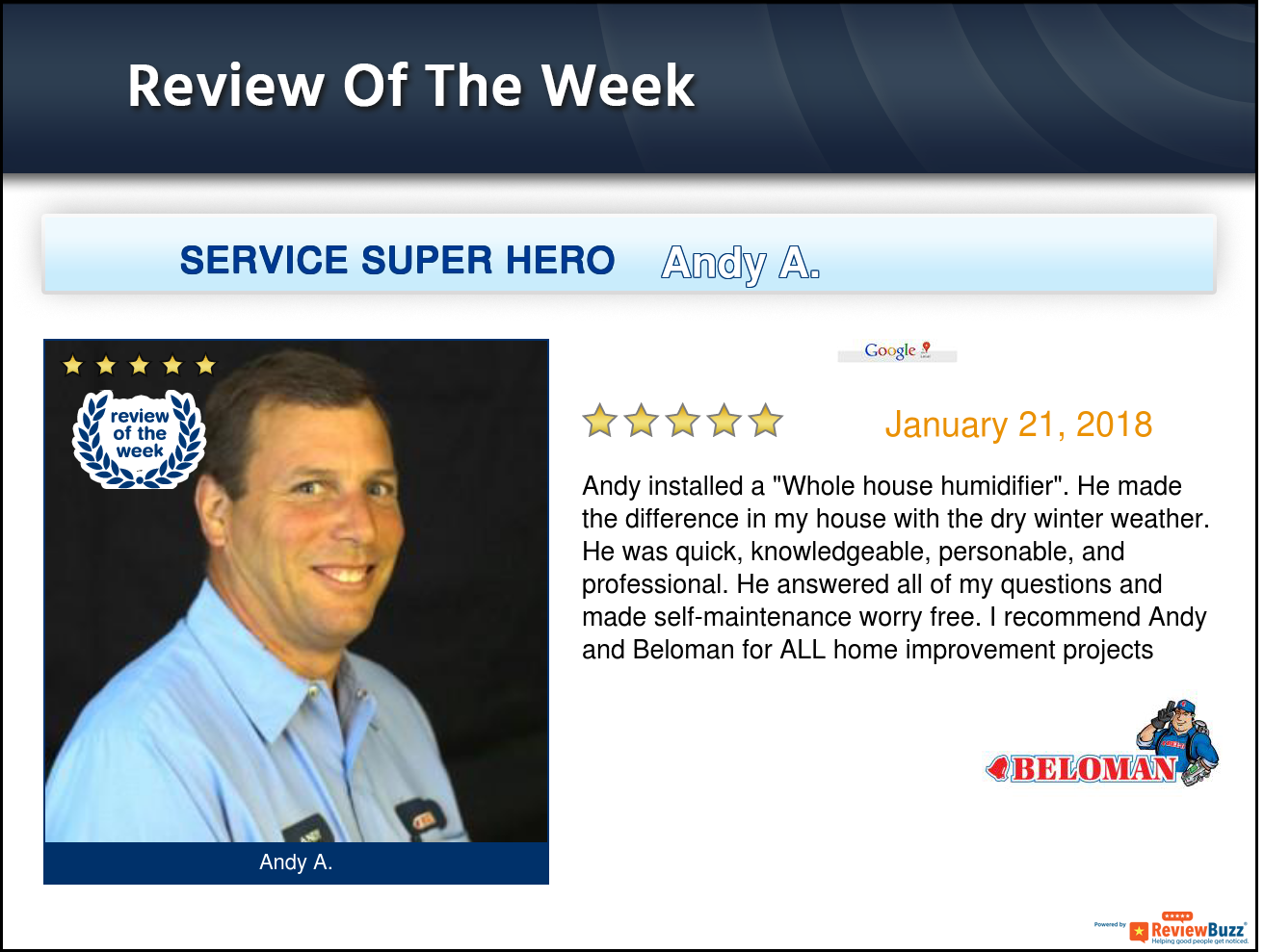 Review Of The Week Teambeloman Happycustomer Belleville Google Reviews This Or That Questions