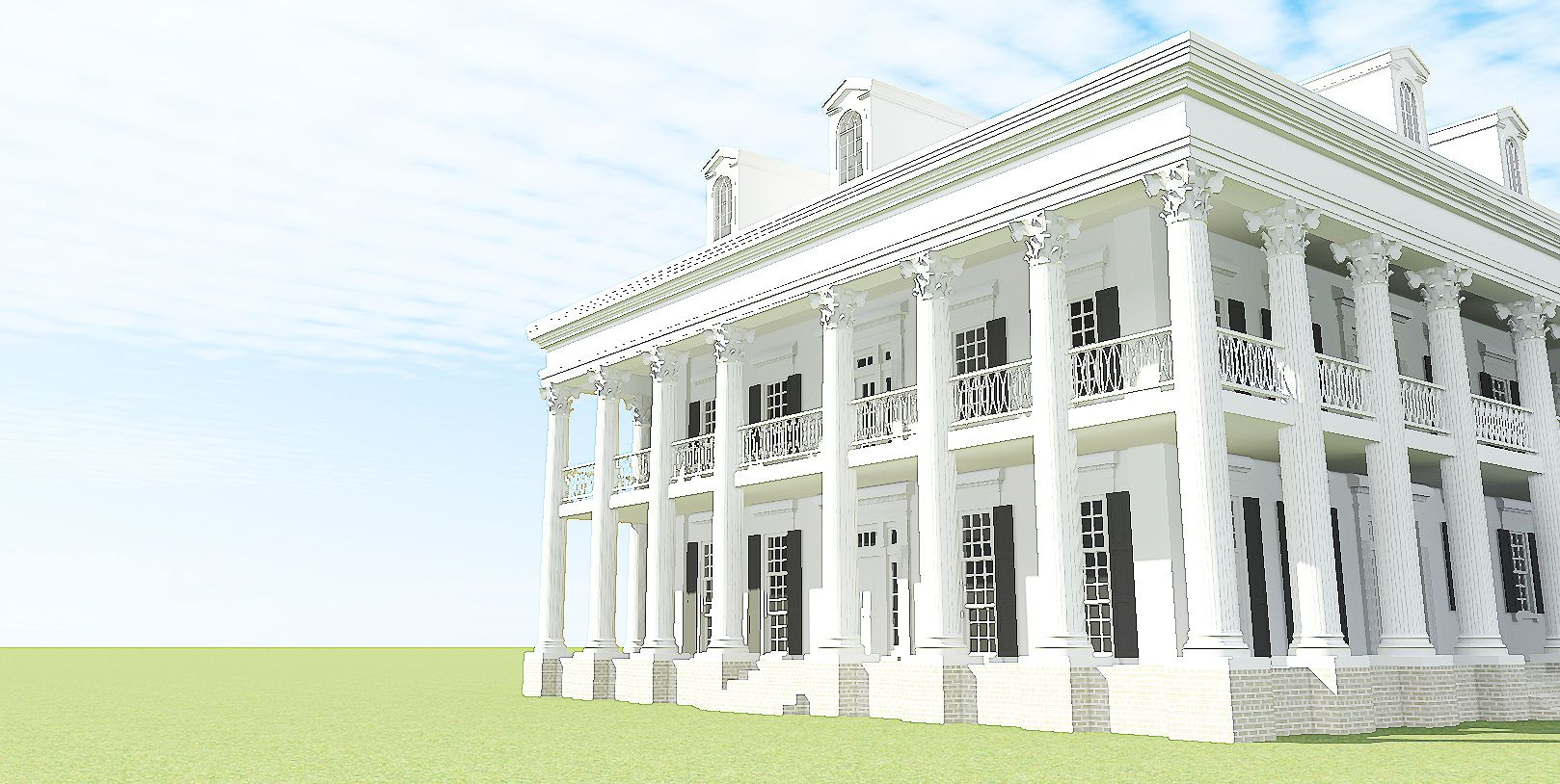 Smaller Plantation style plan versus dream plan | For the Home ...