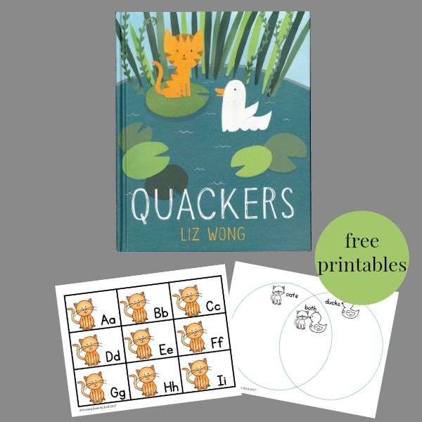 Read for the Record Day: Quakcers Activities   Literacy activities ...